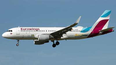 D-AEWG - Airbus A320-214 - Eurowings