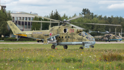 RF-93549 - Mil Mi-24P Hind F - Russia - Air Force