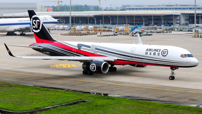 A picture of B20E9 - Boeing 757236P(CF) - SF Airlines - © Jay Cheung