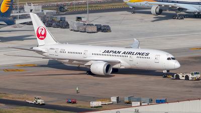 A picture of JA832J - Boeing 7878 Dreamliner - Japan Airlines - © Sandeep Pilania