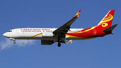 A picture of B1548 - Boeing 73786N - Hainan Airlines - © wangpaul
