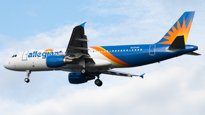 A picture of N294NV - Airbus A320214 - Allegiant Air - © Nicolas Goodman