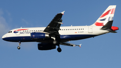 A picture of GEUPP - Airbus A319131 - British Airways - © subing27