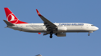 TC-JVJ - Boeing 737-8F2 - Turkish Airlines