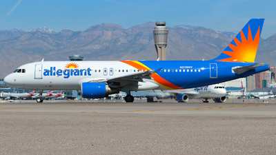 A picture of N238NV - Airbus A320214 - Allegiant Air - © Lars Rohde
