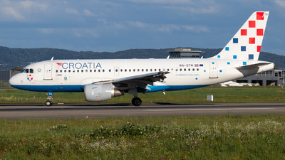A picture of 9ACTH - Airbus A319112 - Croatia Airlines - © Luis Singer