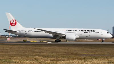 JA881J - Boeing 787-9 Dreamliner - Japan Airlines (JAL)