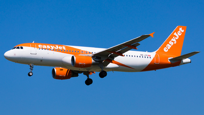 A picture of HBJYD - Airbus A320214 - easyJet - © Martin Rogosz