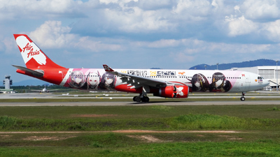 A picture of 9MXXB - Airbus A330343 - AirAsia X - © Vicknesh PS