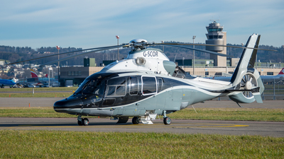 G-SCOR - Eurocopter EC 155 B1 - Starspeed