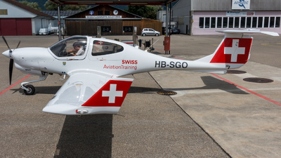 HB-SGO - Diamond DA-40NG Diamond Star - Swiss Aviation Training