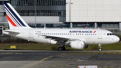 A picture of FGUGL - Airbus A318111 - Air France - © Bjoern Huke
