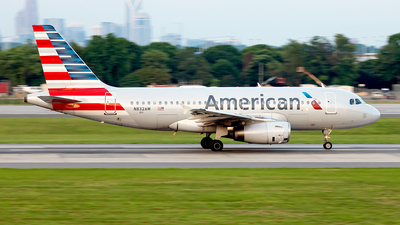 A picture of N832AW - Airbus A319132 - American Airlines - © Yan777