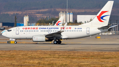 A picture of B2639 - Boeing 7377W0 - China Eastern Airlines - © ChengFJ