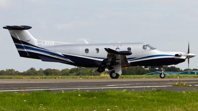 G-LBHA - Pilatus PC-12/47 - Private