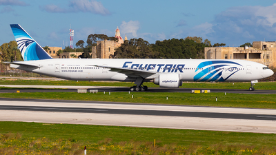 A picture of SUGDL - Boeing 77736N(ER) - EgyptAir - © RowenAquilina