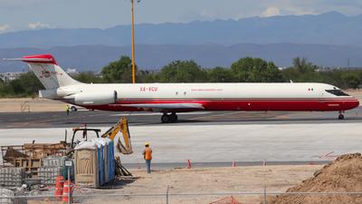XA-VCU - McDonnell Douglas MD-83(SF) - Aeronaves TSM