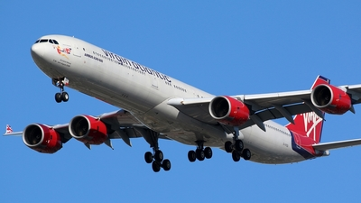 G-VYOU - Airbus A340-642 - Virgin Atlantic Airways