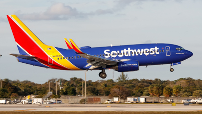 N439WN - Boeing 737-7H4 - Southwest Airlines