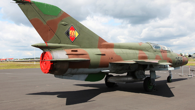 256 - Mikoyan-Gurevich MiG-21UM Mongol B - German Democratic Republic - Air Force