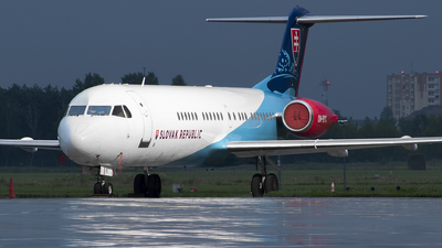 OM-BYC - Fokker 100 - Slovakia - Government Flying Service