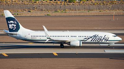 A picture of N520AS - Boeing 737890 - Alaska Airlines - © Alexander Owen