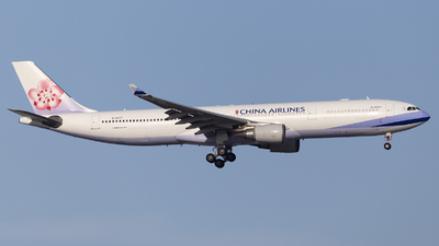 A picture of B18357 - Airbus A330302 - China Airlines - © MQ1131
