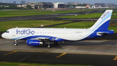 VT-INT - Airbus A320-232 - IndiGo Airlines