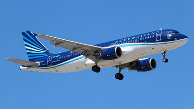 A picture of 4KAZ80 - Airbus A320214 - Azerbaijan Airlines - © Vitaly Revyakin