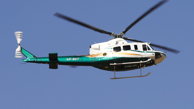 AP-BEF - Bell 412HP - Pakistan - Government of Sindh