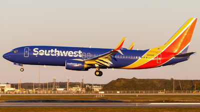 A picture of N8684F - Boeing 7378H4 - Southwest Airlines - © Maik Voigt