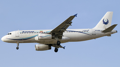 EP-APG - Airbus A320-231 - Iran Aseman Airlines