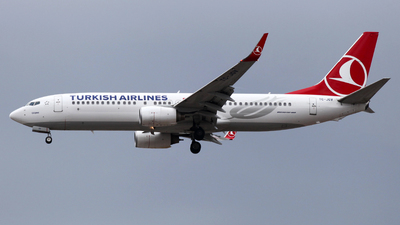 TC-JGV - Boeing 737-8F2 - Turkish Airlines