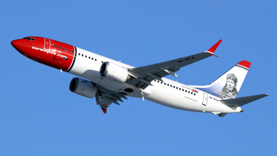 SE-RTA - Boeing 737-8 MAX - Norwegian