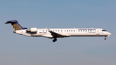 A picture of DACNE - Mitsubishi CRJ900LR - Lufthansa - © Sebastian Sowa