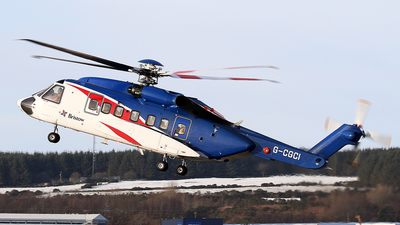 G-CGCI - Sikorsky S-92 Helibus - Bristow Helicopters
