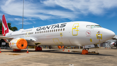 A picture of VHVXD - Boeing 737838 - Qantas - © kingtimothy