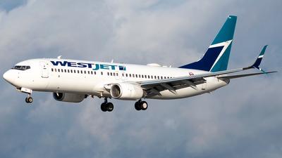 A picture of CGWBL - Boeing 7378CT - WestJet - © Derek MacPherson