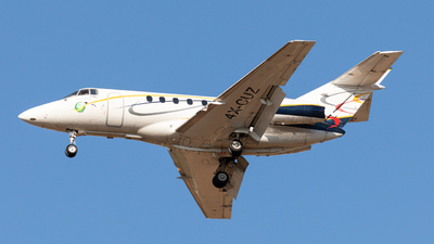 4X-CUZ - Hawker Beechcraft 800XP - Arrow Aviation