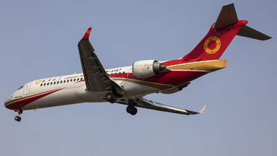 A picture of B3387 - Comac ARJ21700 - Chengdu Airlines - © Amyritter-Lv
