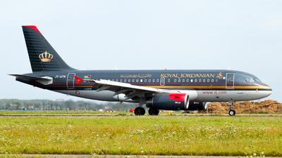 A picture of JYAYN - Airbus A319132 - Royal Jordanian - © Jonas Abend