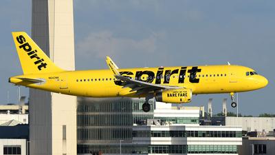 N643NK - Airbus A320-232 - Spirit Airlines
