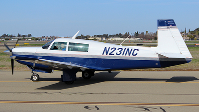 N231NC - Mooney M20K - Private