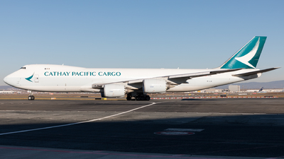 A picture of BLJA - Boeing 747867(F) - Cathay Pacific - © Sierra Aviation Photography