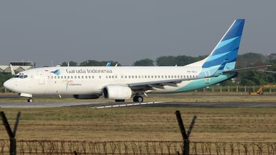 A picture of PKGEJ - Boeing 73786N - Garuda Indonesia - © Ilham Maulana Gufron