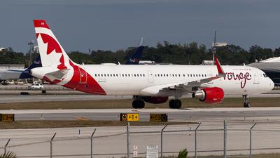 C-FJQL - Airbus A321-211 - Air Canada Rouge