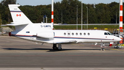 A picture of CGWFK - Dassault Falcon 50 - [264] - © C. v. Grinsven