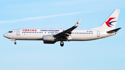 B-207L - Boeing 737-89L - China Eastern Airlines