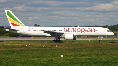 ET-AJX - Boeing 757-260 - Ethiopian Airlines
