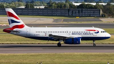 G-EUPZ - Airbus A319-131 - British Airways